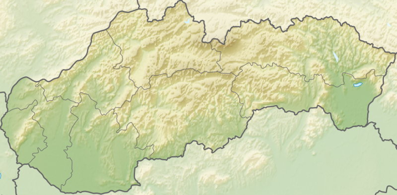 Súbor:Relief Map of Slovakia.png