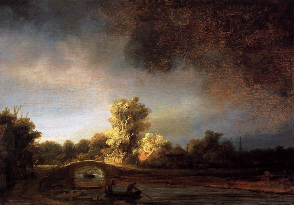 Rembrandt Et Le Paysage Histoire Des Arts En Khagne