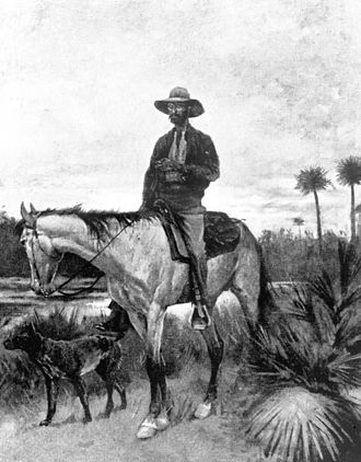 Florida - A Cracker cowboy, 19th century