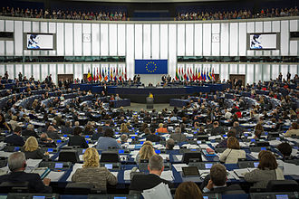 Sakharov Prize - The awarding ceremony of the 1990 prize awarded to Aung San Suu Kyi inside the Parliament's Strasbourg hemicycle, in 2013