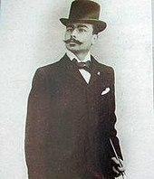 Photographie montrant le fondateur de l'OM, René Dufaure de Montmirail.