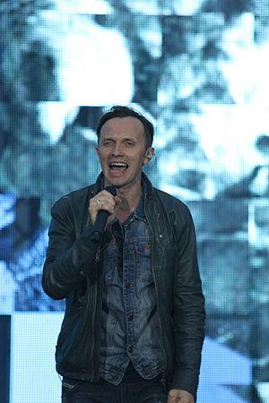 Renārs Kaupers - Renārs Kaupers on stage in Jelgava 2015