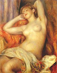 Auguste Renoir: La Baigneuse endormie