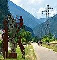 Resiutta (UD), Bike path Province of Udine, Italy.jpg