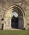 Restored doorway, Clonmacnoise.jpg
