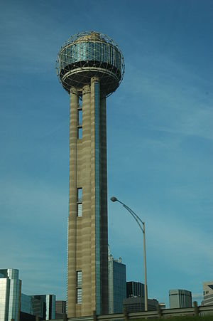 Reunion Tower, Dallas, Texas, USA