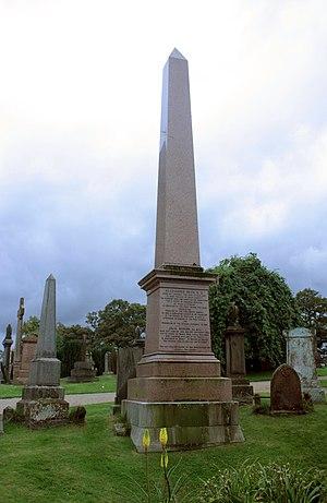 Alexander Beith - Rev Alexander Beith's grave, Valley Cemetery, Stirling