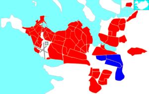 Árbær - Image: Reykjavík map (D07 Árbær)