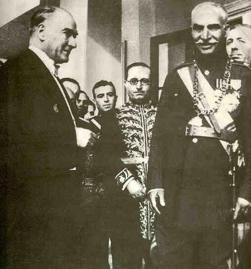 Rezā Shāh and Mustafa Kemal Atatürk