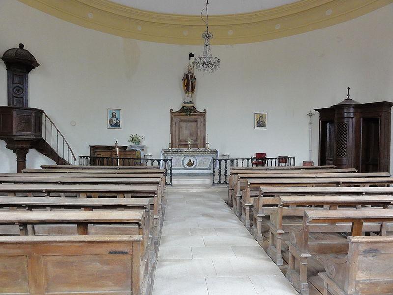 Rigny-Saint-Martin (Meuse) église intérieur