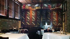RingSide Steakhouse - Dining room in 2011