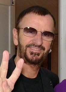Ringo Starr and a fan backstage in Hamburg, July 2011a.jpg