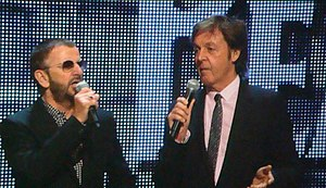 Ringo Starr - and Paul McCartney introducing T...