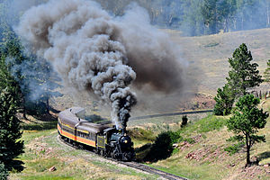 Rio Grande Scenic Railroad - RGSRR excursion train, 2011