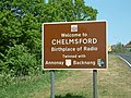 Road Sign, Chelmsford - geograph.org.uk - 418434.jpg