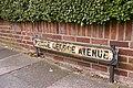 Road sign, Prince George Avenue, London N14 - geograph.org.uk - 860188.jpg