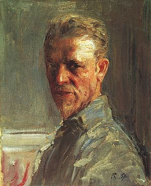 Robert Sterl - Self-portrait (1919)