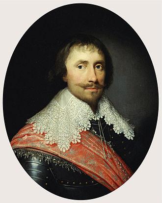 Robert de Vere, 19th Earl of Oxford - Robert de Vere by Cornelis Johnson, 1629.