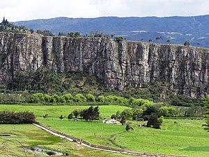 Gonzalo Jiménez de Quesada - Suesca, Cundinamarca, place of death of De Quesada