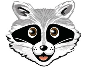 MINIX 3 - Rocky Raccoon, the mascot of MINIX 3.