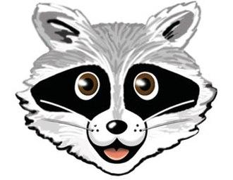 MINIX 3 - Rocky Raccoon, the mascot of MINIX 3.