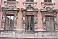 Rom, die Fassade des Palazzo Toni.JPG