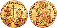 Romanus I with Christopher, solidus.jpg