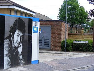 "Ronnie Lane - ""Ronnie Lane"", the street in Manor Park, Newham named after him"