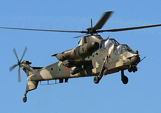Denel Rooivalk attack helicopter family by Atlas Aircraft Corporation, later Denel Aviation
