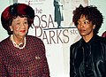 Rosa Parks story movie (wiki page) Dorothy Height and Angela Bassett (48591893776).jpg