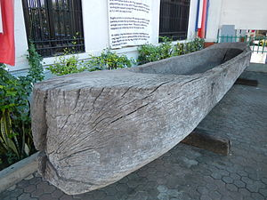 Rosales, Pangasinan - Centuries-old unfinished dugout boat