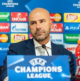 Peter Bosz - Bosz managing Ajax in 2016