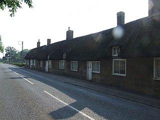 Little Barford farm village in the United Kingdom