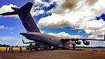 Royal Australian Air Force Boeing C-17 Globemaster III (A41-207) at Christmas Island Airport (2).jpg