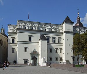 Royal Castle in Vilnius (Wilno).JPG