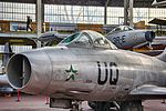 Royal Military Museum, Brussels - Dassault MD-450 Ouragan (11449082253).jpg