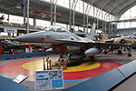 Royal Military Museum, Brussels - F-16 Fighting Falcon (11448828855).jpg