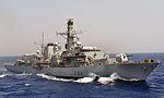 Royal Navy Type 23 Frigate HMS Somerset MOD 45153155.jpg