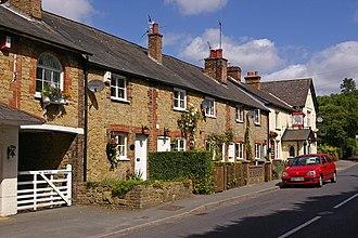 Crockham Hill - Image: Royal Oak Cottages geograph.org.uk 863016