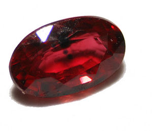Ruby (color) - Image: Ruby gem