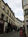 Rue Norvins & Rue Poulbot, Paris 12 May 2014.jpg