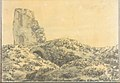 Ruined Roman Tower in a Landscape (Smaller Italian Sketchbook, leaf 5 recto) MET DP269413.jpg