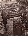 Ruins of Hindu temple, Bilsar, Itah Northwestern Provinces, Gupta Empire era temple 1871 photo.jpg