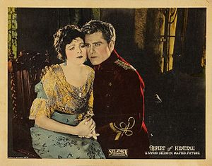 Rupert of Hentzau -  Elaine Hammerstein and Bert Lytell in Rupert of Hentzau (1923)