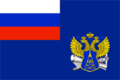 Russia, Flag of Federal service of a geodesy and cartography, 2000.png