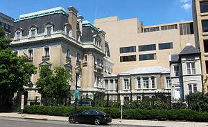 Russian ambassador's residence in Washington, D.C. - Image: Russian ambassador's residence