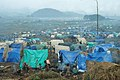 Rwandan refugee camp in east Zaire.jpg