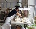 Sèvres - Plâtre - fabrication d'un moule 026.jpg