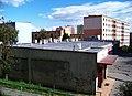 Sídliště Malešice, Chotutická, pohled přes obchodní centrum.jpg