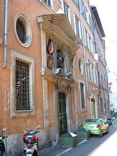 San Giuliano dei Fiamminghi Roman Catholic church dedicated to Saint Julian the Hospitaller, located in Rome, Italy